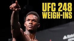 UFC 248 Ceremonial Weigh-Ins | ESPN MMA