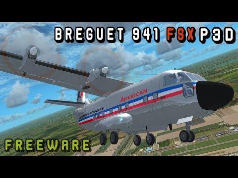 Breguet 941 S FSX & P3D   Freeware Model Details   FSX PC 4K