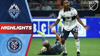 Vancouver Whitecaps FC vs. NYCFC | HIGHLIGHTS - August 31, 2019