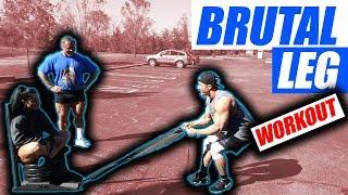 Brutal Leg Workout 4 Massive Quad Sweep Development