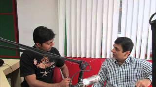 Dr Bhavesh Sachde IMA president RAjkot with RJ Nishit part 2