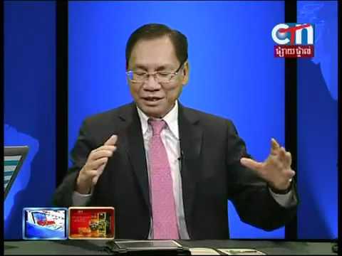 Cambodian TV News Khmer CTN Cambodia TV Phnom Penh City