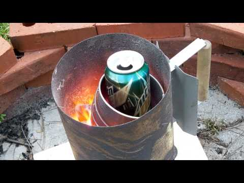 Very Simple Aluminum Furnace