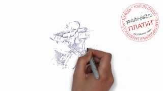 Учимся рисовать девушек карандашом  Как поэтапно нарисовать девушку снайпера карандашом за 39 секунд(, 2014-08-08T04:41:31.000Z)