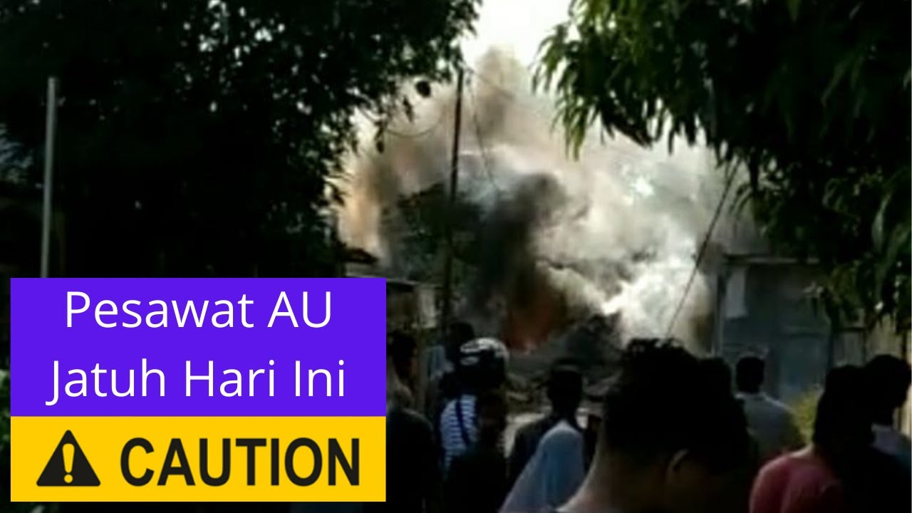 Berita Hari Ini - Pesawat Tempur TNI AU Jatuh di Perumahan ...