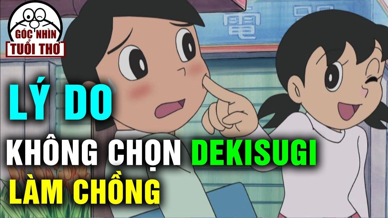 Choáng Với Lý Do Khiến Shizuka Không Chọn Dekisugi Làm Chồng Trong Doraemon