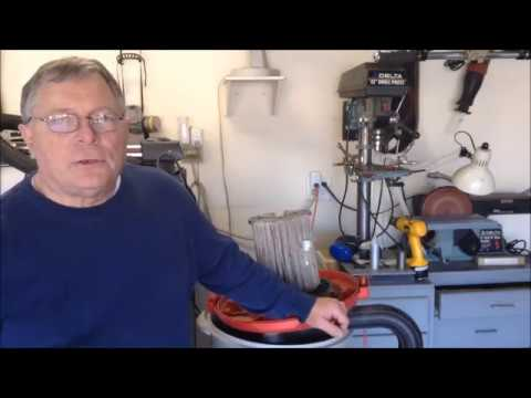 Cleaning a Shop Vac Filter