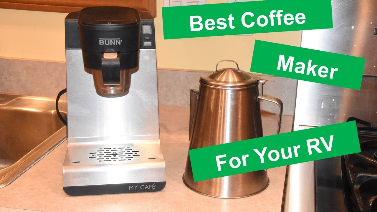 Rv Coffee Maker For Camping With And Without Electricity Youtube