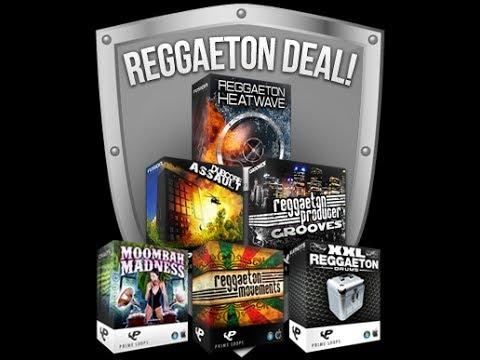 Reggaeton Producer Bundle Deal, 6 packs of Reggaeton Samples ...