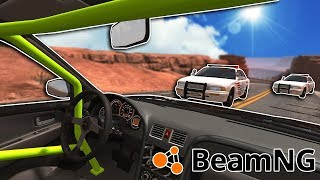 INSANE FIRST PERSON CHASES & CRASHES! - BeamNG Mod Gameplay & …