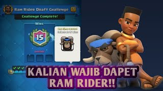 Kali ini saya berbagi tips khusus untuk menangin Ram Rider Challeng...
