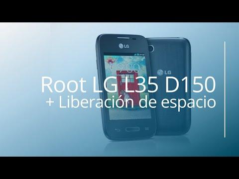 ROOT LG L35 D150 + Liberación de memoria interna.