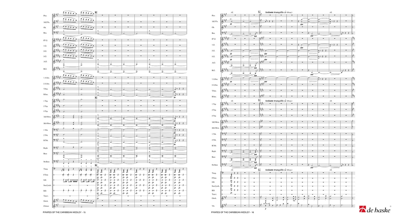 Pirates of the Caribbean Medley | Band Music Shop