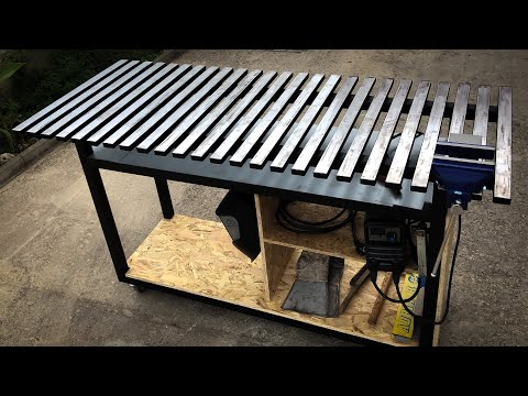 How To Make Welding Table