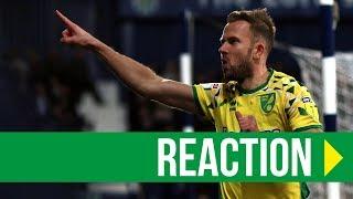 West Brom 1-1 Norwich City: Jordan Rhodes Reaction