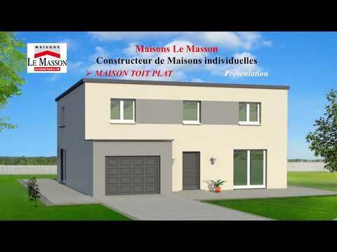 Presentation Maison Toit Plat Maisons Le Masson Rouen