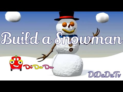 Snowman - didadu channel for kids