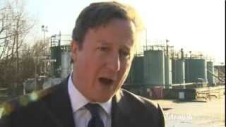 David Cameron: shale gas projects will benefit communities fin…