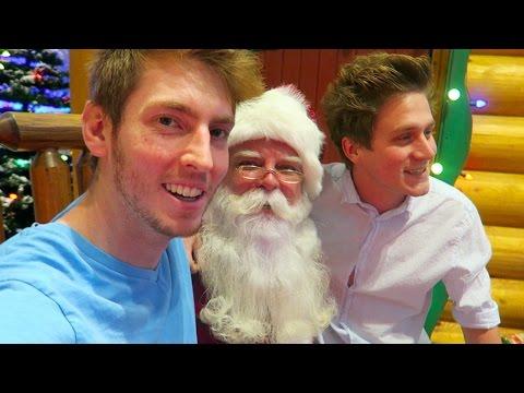 Meeting the REAL Santa!