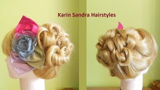 Easy hairstyle | Easy updo | Hairstyle for every day | Easy Hair styling