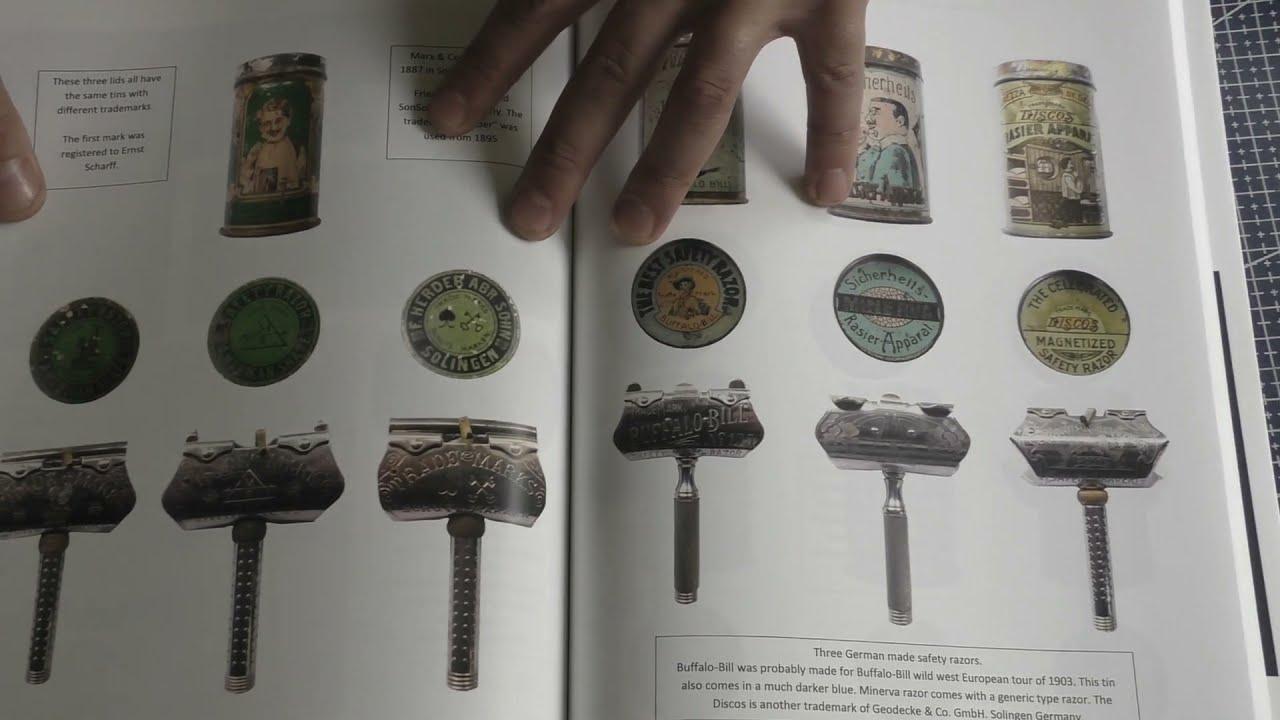 Book Safety Razor Tins  Author Renzo Jardella