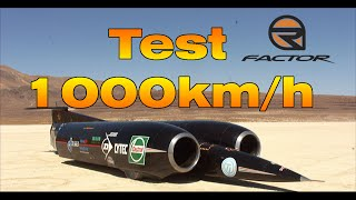 rFactor Test 1000km/h - Thrust SSC