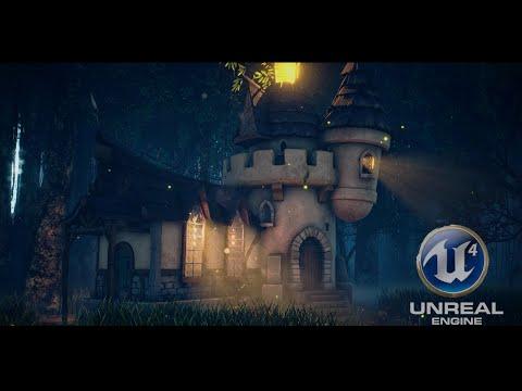 [UE4] Enchanted  Castle