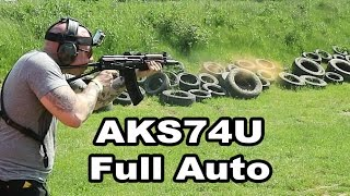 full auto aks74u shorty ak47 kind of