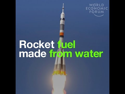 Rocket fuel made from water