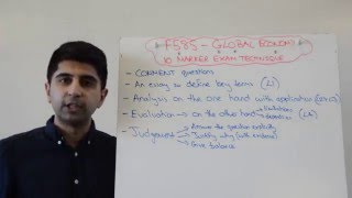 10 Marker 'Comment' Technique - OCR Global Economy F585