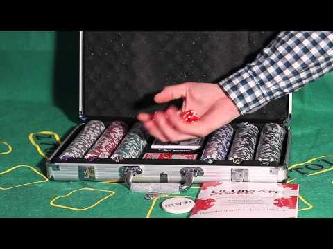 Обзор покерного набора Royal Flush на 300 фишек