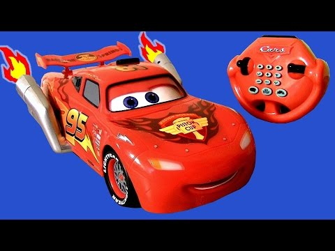 CARS 2 U-Command Lightning McQueen with Smoking Tailpipes Lights n Sounds R/C Water Toy