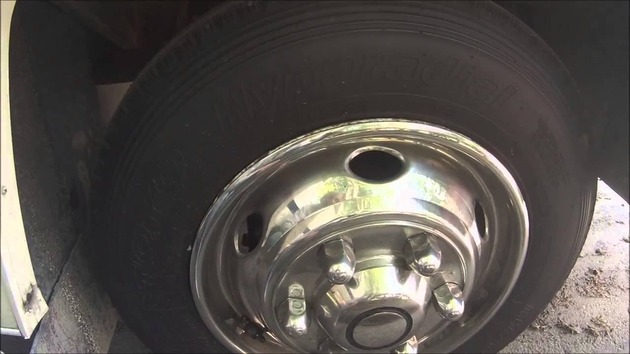 Trying To Remove Wheel Simulator On The Motorhome Youtube