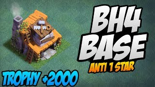 Builder Hall 4 Base | BH4 Builder Base | Base Layout | Clash of Clans BH4 Defence Base