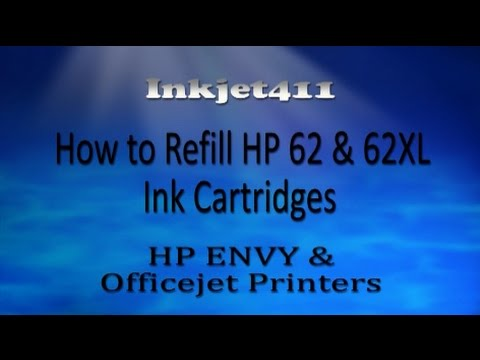 hp 61 printer cartridge refill instructions