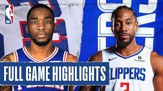 76ers At Clippers | Full Game Highlights | March 1, 2020