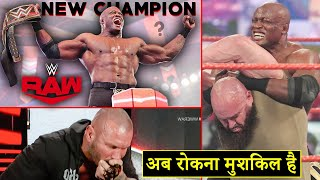 'Ek Or Naya Champion🧐' Bobby Lashley New WWE Champion !? WWE Raw Highlights 22 February 2021