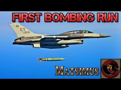 Falcon BMS 4.33 - F-16 First Bombing Flight