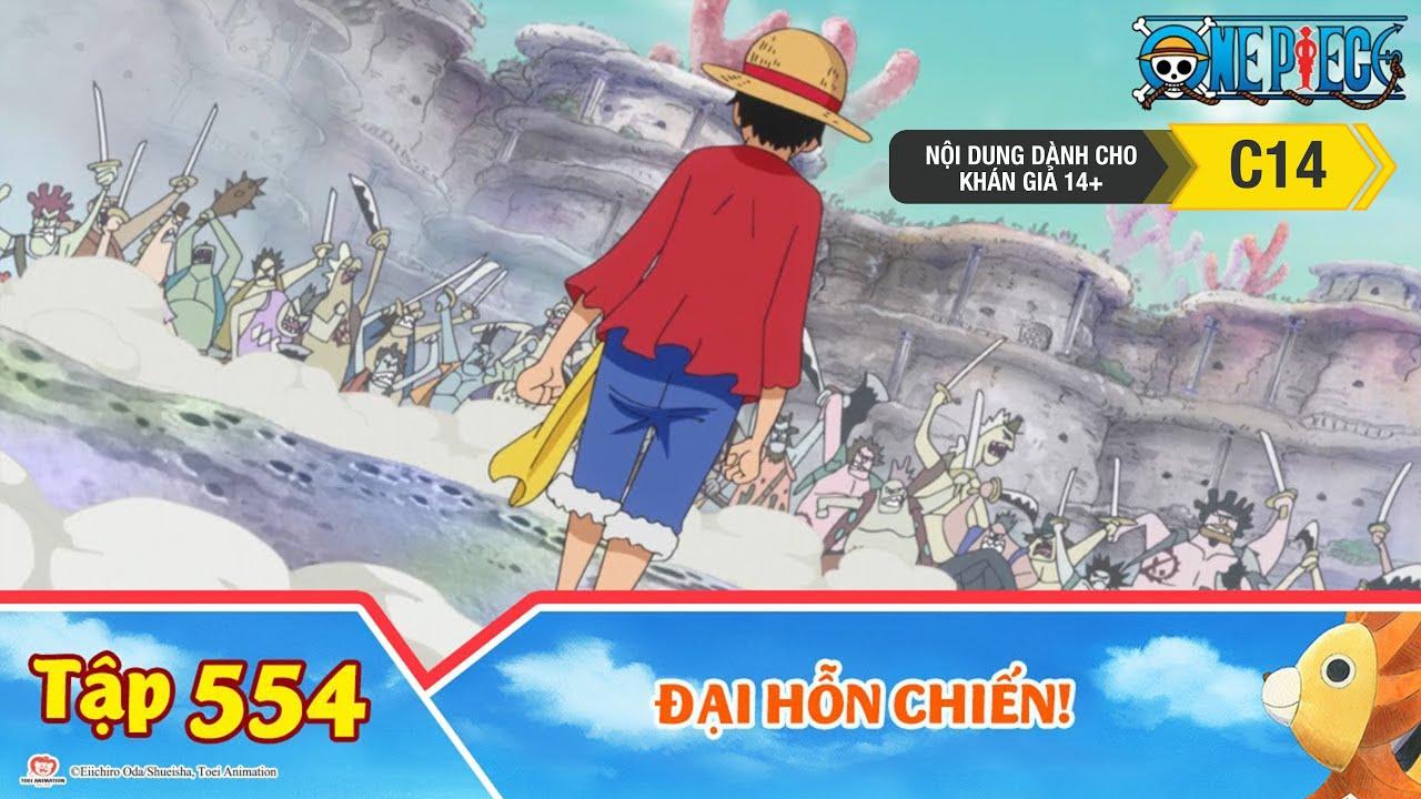 One Piece Best Cut Tập 554: Đại Hỗn Chiến! Băng Mũ Rơm Đấu Với 100 Ngàn Kẻ Địch