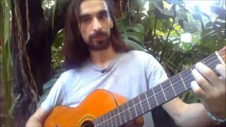 Curso guitarra fácil: ojos de cielo acordes como tocar y cantar