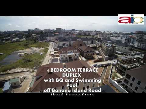 4 Bedroom Terrace  Duplex off Banana Island Estate Road, Ikoyi Lagos State