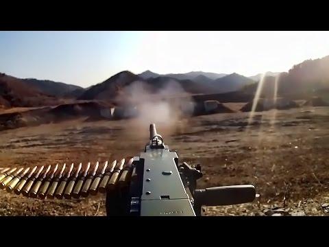 M2 .50 Cal Machine Gun Fire • U.S. Marines Training