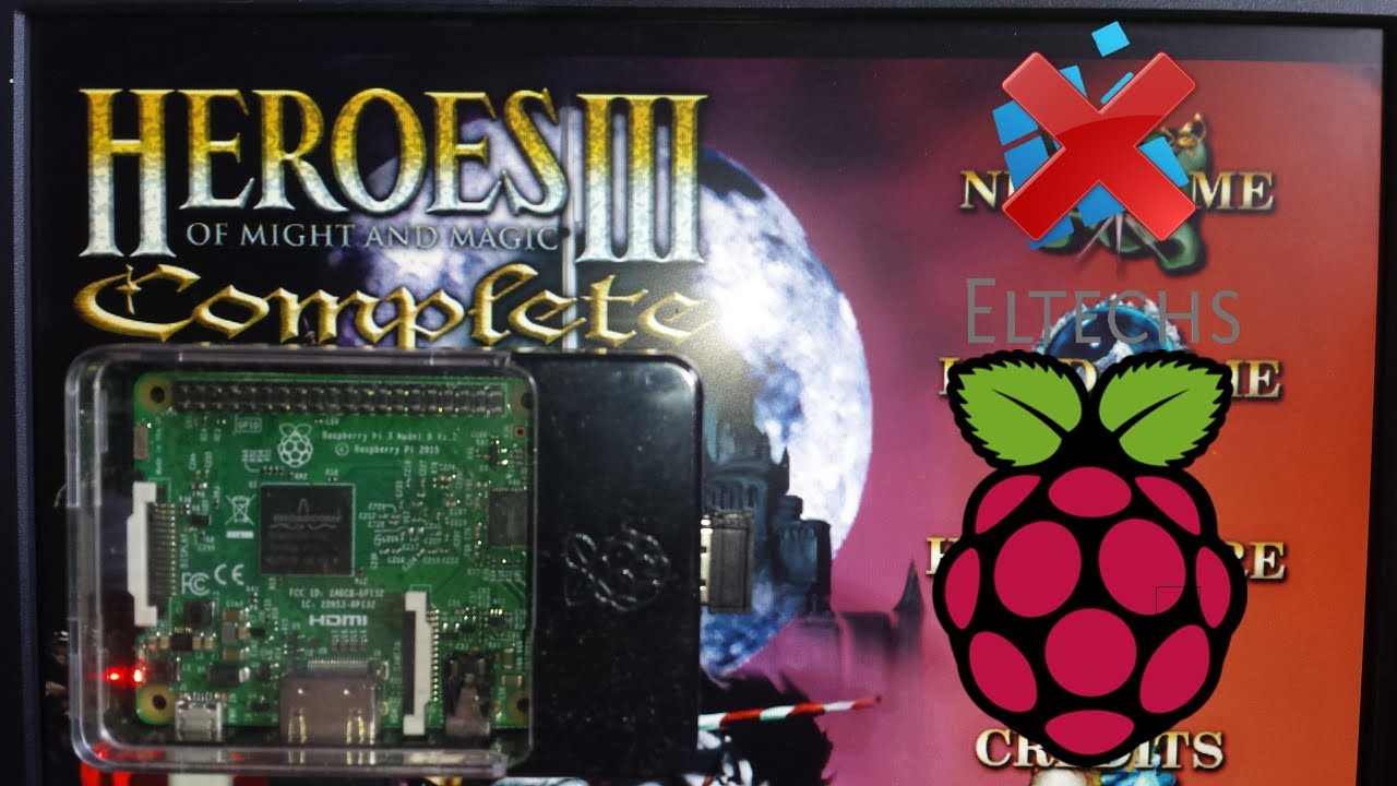 How to play Heroes 3 on Raspberry Pi? - Heroes 3 5: Wake of
