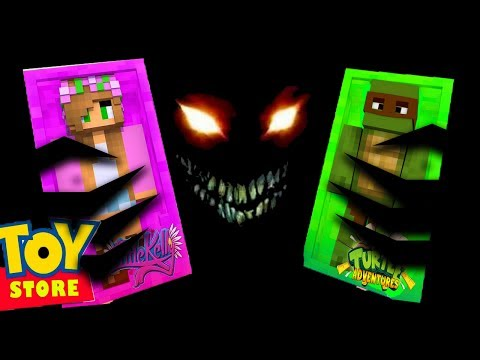 DON'T BE IN A TOY STORE AT 3:00AM! - Minecraft Toy Store w/LittleKelly