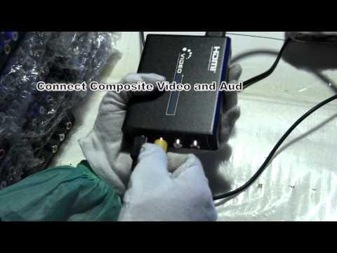 LKV381 HDMI to AV (Composite Video / S-Video + Audio) Downscaler.mp4