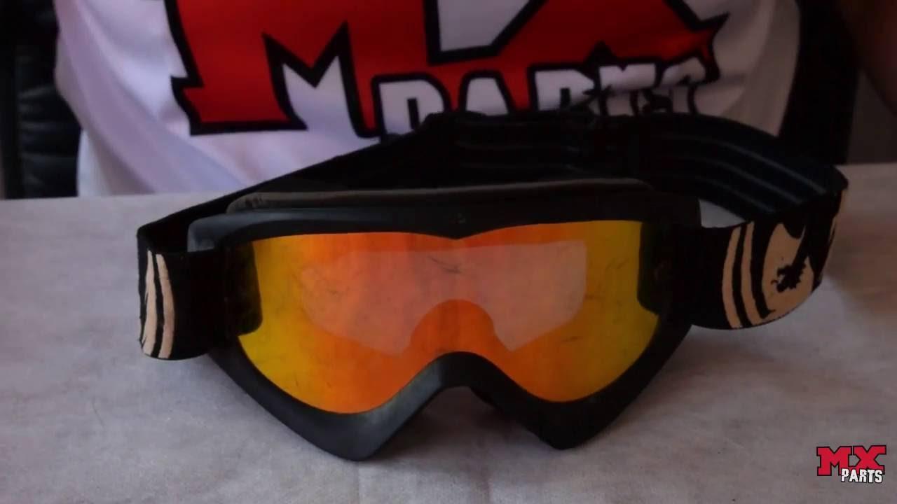 6e98df8e8ac82 MX PARTS Ensina - Como retirar a lente do seu Óculos de Motocross ...
