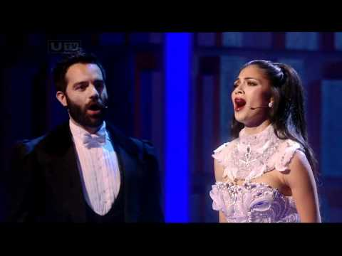 Nicole Scherzinger  Phantom Of The Opera Royal Variety Performance  December 14