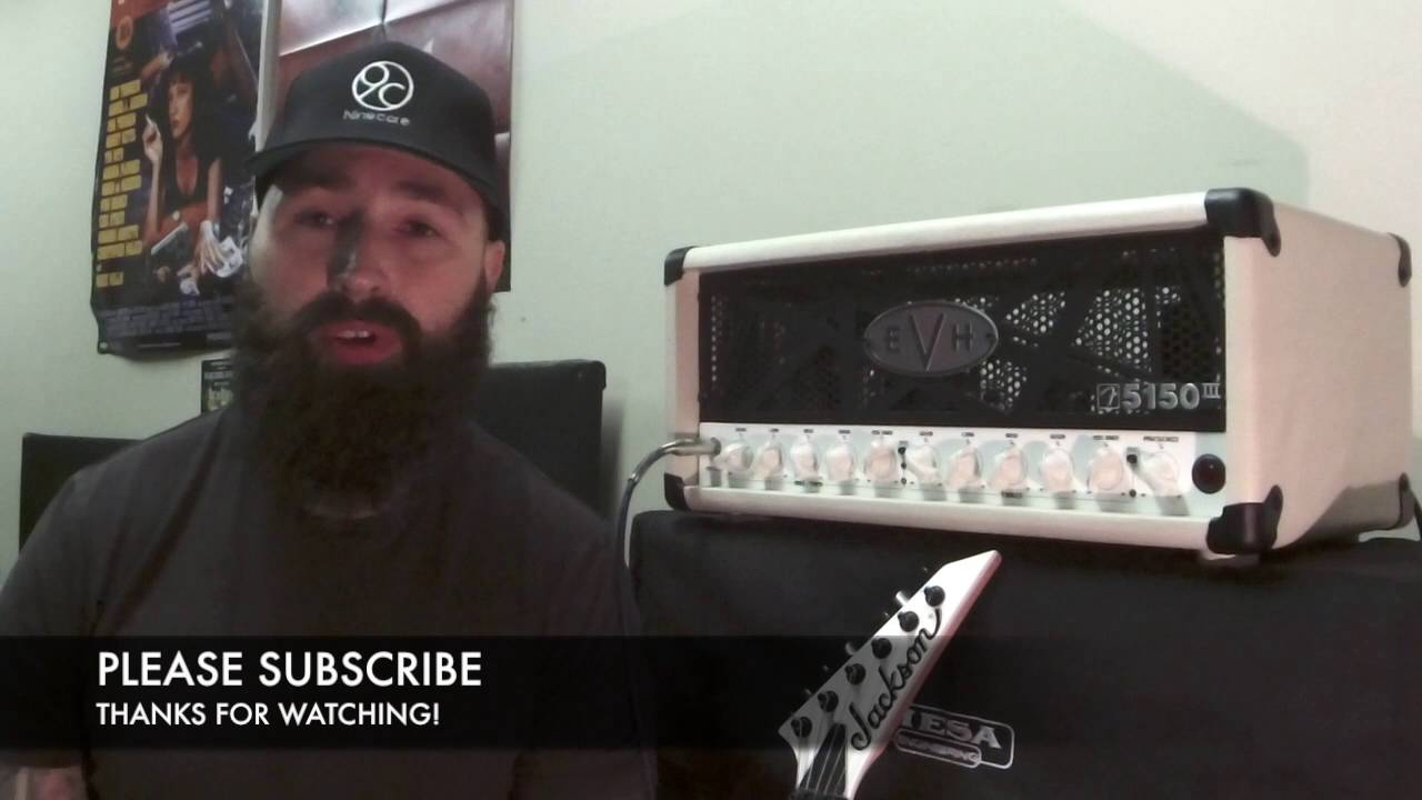 evh 5150 iii mini volume drop i like the volume drop on this amps clean channel youtube. Black Bedroom Furniture Sets. Home Design Ideas