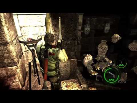Resident Evil 5 - Cali and his squad