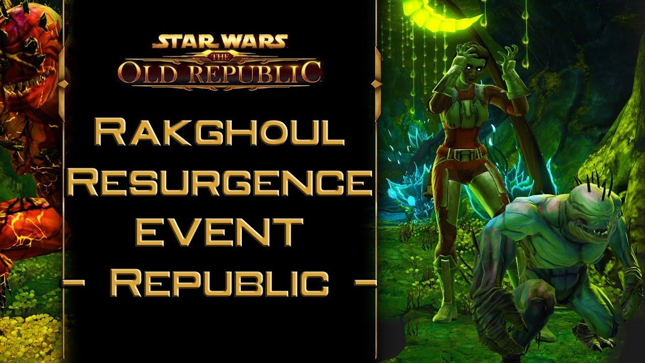 SWTOR: Rakghoul Resurgence event - Republic cutscenes - To Fight ...